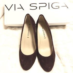 *Brand New* Via Spiga | Suede Heels